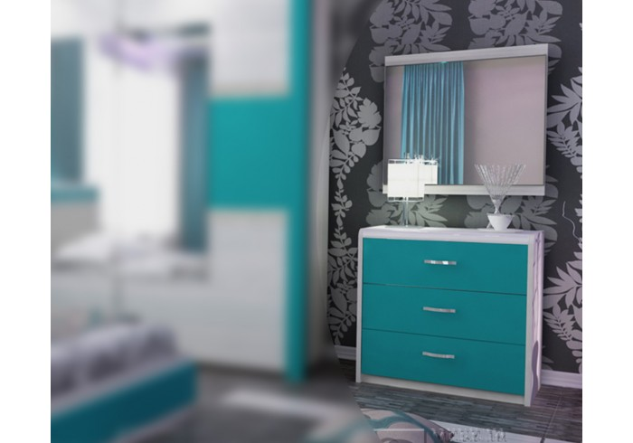 скрин тоалетка с огледало