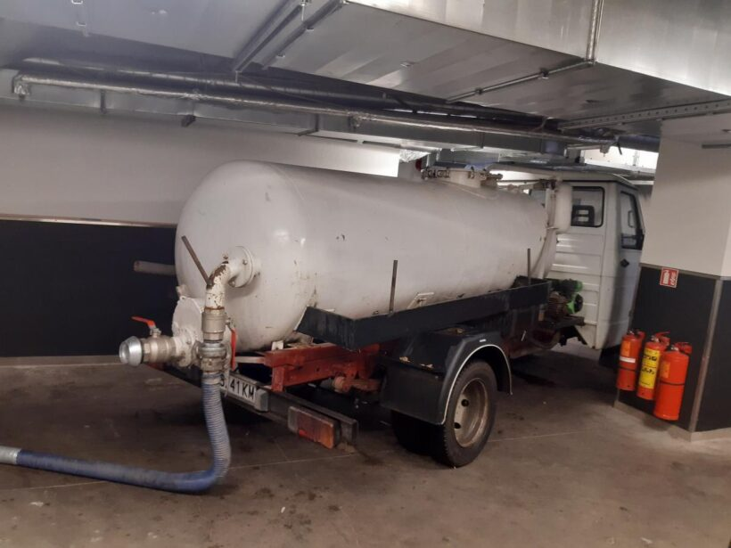 Отводняване на мазета