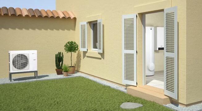 Инверторна термопомпа въздух вода